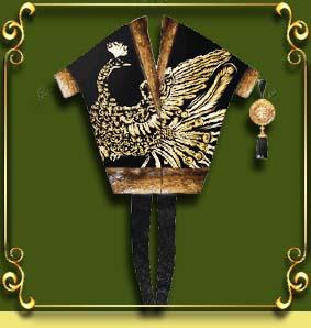 Ручная вышивка золотом и аппликация  на одежде, на шубе от Bugatti - Нонна Иванова