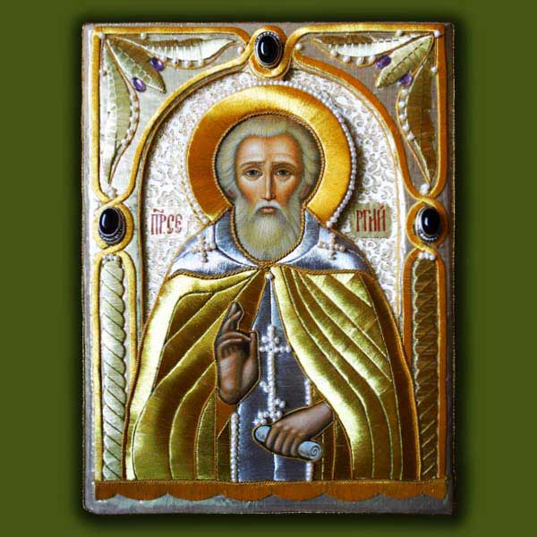 Икона преподобного Сергия Радонежского от Нонны Ивановой