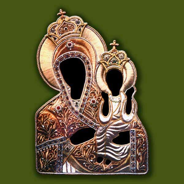 Риза для иконы Богородицы Нечаянная радость от Нонны Ивановой