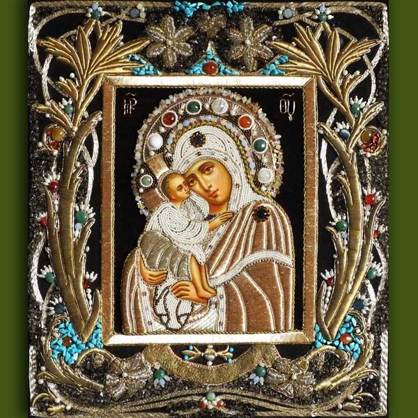 Икона Божией Матери Донская от Нонны Ивановой