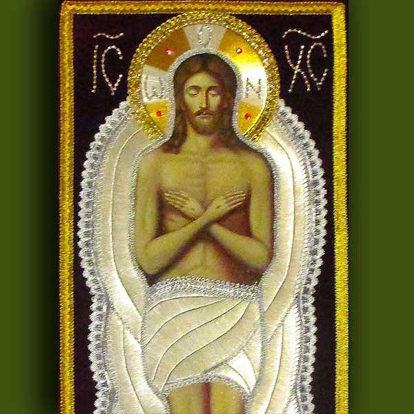 Плащаница Иисуса от Нонны Ивановой